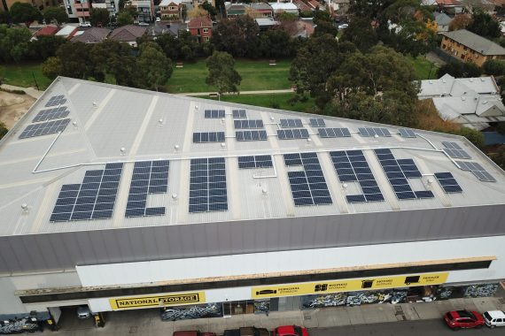 lovely solar venergy project for national storage